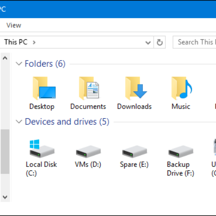 Tech Help Tip on Hard Disk and My Computer Folder