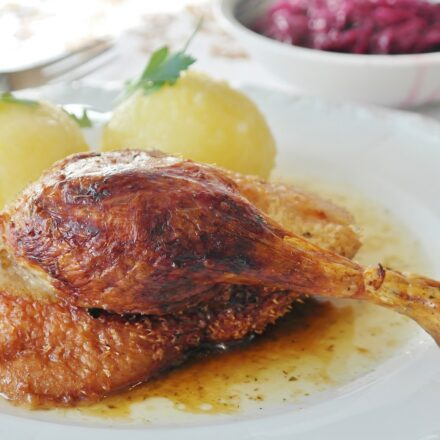 Duck Legs Confit, Meal Of Today Made Of Tender Meat
